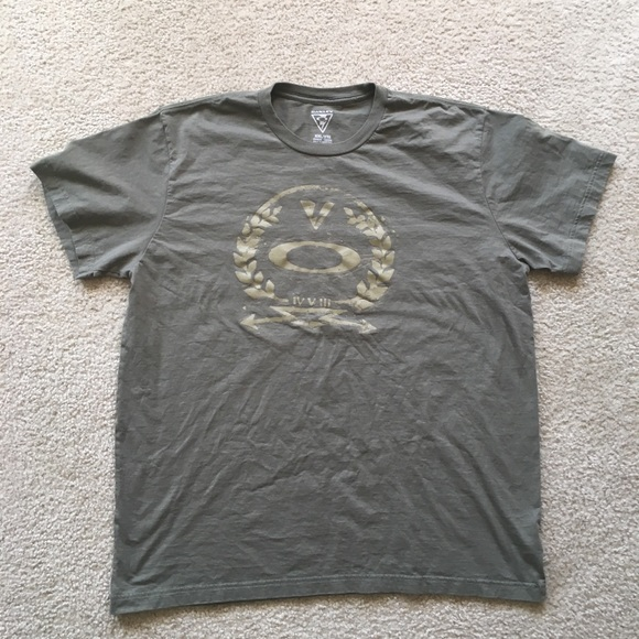 Oakley Other - Oakley Graphic Olive Green Short Sleeve Tee-Shirt